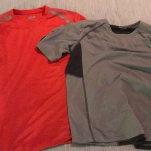 2 athletic style shirts, men's S. BCG Tru-Wick